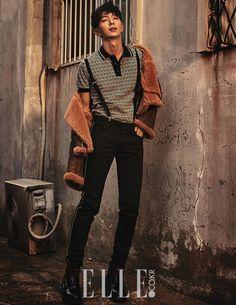 Lee Joon Gi Magazine ELLE