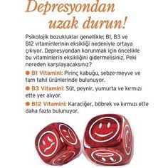 Depresyondan uzak durun!