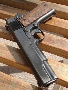 <高度機密指令> 遂行中:WA/ M1911 ゲッタウェイ 1911 Pistol, Colt 1911, Colt 45, Airsoft Gear, Shooting Guns, Fire Powers, Concept Weapons, Guns And Ammo, Self Defense