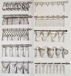 21 Trendy Home Decored Ideas Interior Design Curtain Rods Hanging Curtains, Curtains With Blinds, Kitchen Curtains, Drapes Curtains, Valance, Interior Design Curtains, Rideaux Shabby Chic, Kitchen Window Coverings, Rideaux Design
