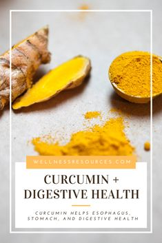 Wellness Resources' latest health new article on the affects of curcumin on the esophagus, stomach, and digestive health. Read the full article via the link! Healthy Detox, Healthy Snacks, Healthy Recipes, Healthy Life, Healthy Living, Herbal Remedies, Natural Remedies, Curcumin Benefits, Acid Indigestion
