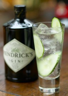 Hendricks gin. so delish! especially if you add some gin in with tonic water, then add a cucumber slice