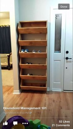 home decor for small spaces 27 Cool amp; Clever Shoe Storage Ideas for Small Spaces - Simple Life of a Lady Diy Shoe Storage, Diy Shoe Rack, Small Space Shoe Storage, Cheap Storage, Shoe Cubby, Shoe Storage Laundry Room, Entryway Shoe Rack, Garage Shoe Rack, Bedroom Storage