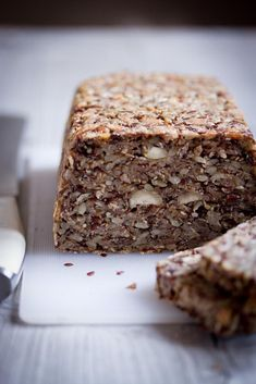 Raw Vegan, Banana Bread, Paleo, Food And Drink, Low Carb, Gluten Free, Healthy Recipes, Cooking, Desserts