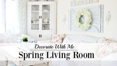 Decorate With Me | Spring Living Room. Living Room Furniture Decorating Ideas. 98963962 Living Room Decor Inspiration. Change Your Living Room Decor On A Limited Budget In Six Steps