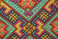 Folk Embroidery, Cross Stitch Embroidery, Folk Costume, Costumes, Bargello, Cross Stitching, Textile Art, Embellishments, Needlework