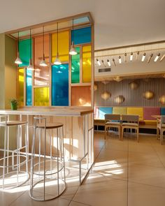 #niceproject COFFEE &, a small cafe-bakery in Kiev, Ukraine, designed by YUDIN Design