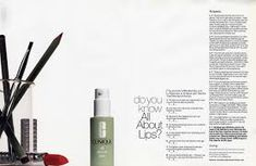 Clinique beauty advertorials - Google Search