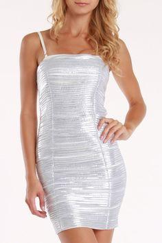 Ariella Ruffle Layer Dress In White