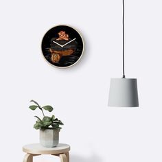 Cute little simba and the big old lion king reflection Clocks  #clock #wall #wallclock #home #painting #watercolor #ink #popart #comic #illustration #thelion #cat #kitten #animals #kitty #kittens #lion #lionking #younglion #animals #bigkittens