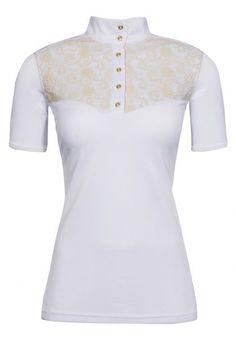 Fashion Forward Riding Shirts for 2014 | Velvet Rider ...The Fior Da Liso Lacie Show Shirt! #vrhorseshowweek