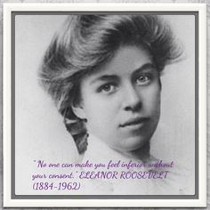 Wonderful quote from a remarkable woman to live by and never forget.