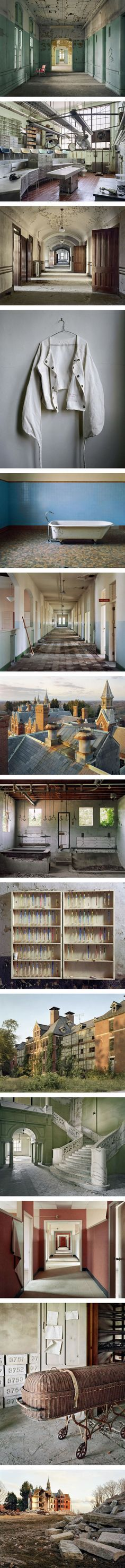 Photographer Documents Abandoned Mental Hospitals (By Christopher Payne)