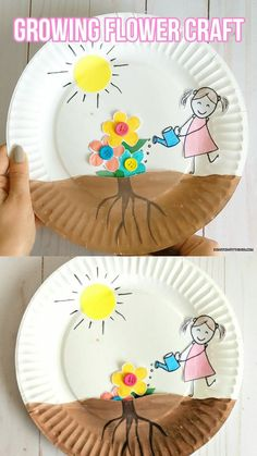 growing flowers ~ growing flowers from seeds . growing flowers from seeds indoors . growing flowers in pots . growing flowers from seeds outdoors . growing flowers from seeds kids . growing flowers for profit Spring Crafts For Kids, Summer Crafts, Diy Crafts For Kids, Fun Crafts, Craft Kids, Kids Diy, Creative Crafts, Toddler Paper Crafts, Creative Ideas For Kids
