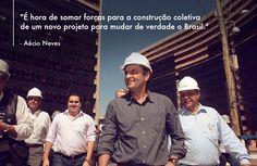 Mudança!  #vidaqueinspira #vidapolitica #minhatrajetoria #aecioneves #20anosdecongresso #trajetoriaaecio