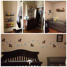 Puppy Themed Nursery And Guest Room