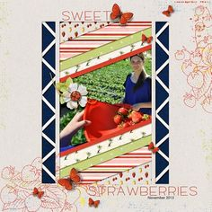 Stefanie Semple | Sweet Strawberries 600 - Community Layouts - Gallery - Get It Scrapped