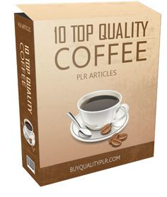 10 Top Quality Coffee PLR Articles - http://www.buyqualityplr.com/plr-store/10-top-quality-coffee-plr-articles/.  10 Top Quality Coffee PLR Articles #Coffee #CoffeePLR #CoffeePLRArticles #PLR #PLRcontent In this PLR Content Pack You'll get 10 Top Quality Coffee Articles with Private Label Rights to help you dominate the Food market which is a highly profitable and in-demand n....