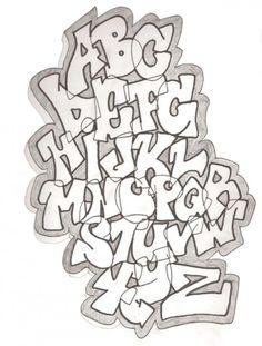 2 Sketch Style of Graffiti Alphabet by DemonKing aka Grim