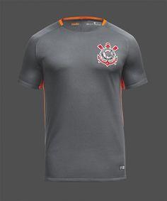 70b4ba83a81 sc corinthians 2017 18 season third shirt jersey Cheap Football Shirts,  Soccer Kits, Soccer