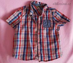 Bavlněná košile, 50 Kč - bazar, prodej - eMimino.cz Plaid, Shirts, Tops, Women, Fashion, Gingham, Moda, Fashion Styles, Dress Shirts