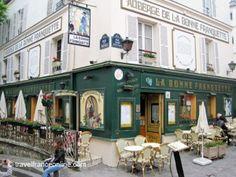 Montmartre Village - La Bonne Franquette on www.travelfranceonline.com