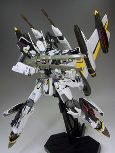 DX Chogokin Macross Frointer YF-29 30th Anniversary vesion with Super Pack - battroid