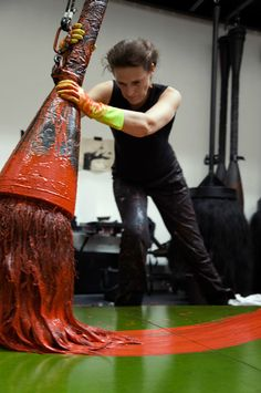 Fabienne Verdier   Is art all about the tools, the materials, the connection between artist and canvas?