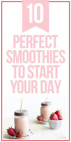 Lose weight with these healthy breakfast smoothies!