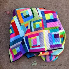 Welcome to finish it up Friday! I finished my quilt! This one took me on quite a journey. It feels so...