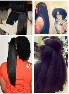 Black girl problems: Hair Shrinkage
