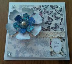 Birthday butterfly card.