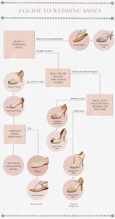 tips + tricks | how to choose your wedding day shoes | via: BHLDN