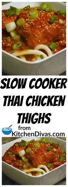 We love easy recipes like this. Combine ingredients in a bowl and pour it over meat in the slow cooker. After a few hours return to a fabulous and flavorful meal.