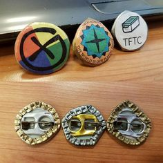 Made some #geoswag again #upcycling #geocaching #geocache