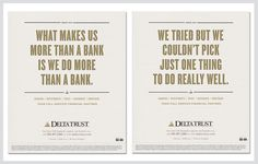 Delta Trust & Bank – Positioning Campaign