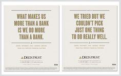 Delta Trust & Bank – PositioningCampaign
