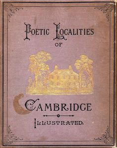 We need to go on a treasure hunt for this book. Then go to Cambridge afterward, of course.