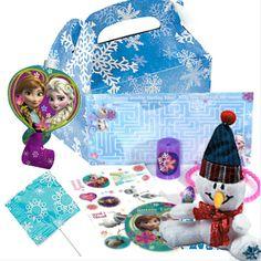 Disney Frozen: Loot Box Filled Party Supplies Canada & Halloween Supplies Canada - OpenAParty.Com  Frozen Birthday Party Ideas.