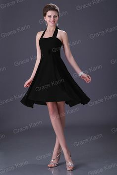 7Color Lady Chiffon Party Cocktail Ball Evening Short Dress Bridesmaid Mini Gown | eBay