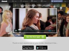 Get an instant opinion with new social photo app called Thumb