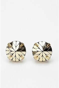 Prismatic Post Earrings.  They come in gold AND silver!  Bedazzle me with these and nothing else!!!
