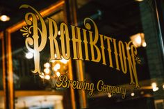 Prohibition Brewing Co. | Kelowna, BC