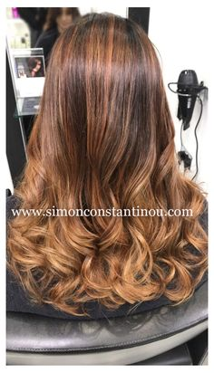Cardiff's Balayage Specialists A gorgeous colour by Laura ✨ Grown out highlights are refreshed with a warmer softer Balayage and a darker root fade for easy maintenance. If you are in Cardiff and would like to book a free colour consultation with Laura or one of our many talented colourists ☎️ call 02920461191 #simonconstantinou #hairdresserscardiff #balayage #warmbalayage