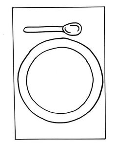 laminate and use as play dough mat OR draw with dry erase markers  sc 1 st  Pinterest & piatto-menu-giorno | Alimentação | Pinterest | Menu