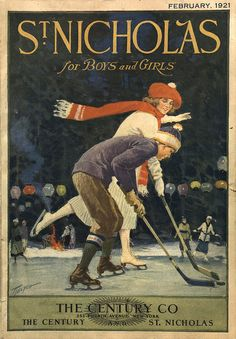 Cover of St. Nicholas magazine, February 1921 | Flickr - Photo Sharing!