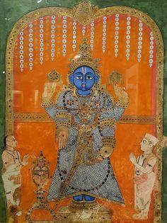 Krishna as Balaji Early 19th century. Tanjore, India. Delhi National Museum.
