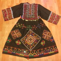 Kohistan norestan dress ethnic tribal vintage von akcaturkmen