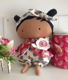 Orquídea de Feltro: Sweetheart Doll 3 Hello Dolly, Hello Kitty, Tilda Toy, Fabric Toys, Wooden Dolls, Toy Boxes, Doll Accessories, Doll Toys, Art Dolls