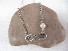 ON SALEInfinity necklace bridesmaid gift  by simplejewelrysale, $2.20